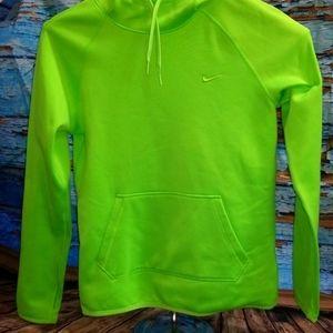 Nike Pullover Sweatshirt Neon Green Size XS